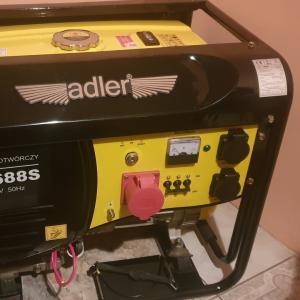 agregat prądotwórczy adler wynajem